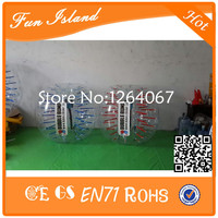 Free Shipping CE Interested 1.5m Dia PVC Bubble Suit,Inflatable Ball Suit,Bubble Football With Logo