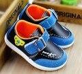 Primavera de los nuevos niños shoes wholesale usos empalme de cuero recreacionales de los niños boy bottom shoes shoes el único ganso