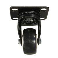 4 Pcs Heavy Duty 200kg 50mm Swivel Castor Wheels Trolley Furniture Caster Rubber