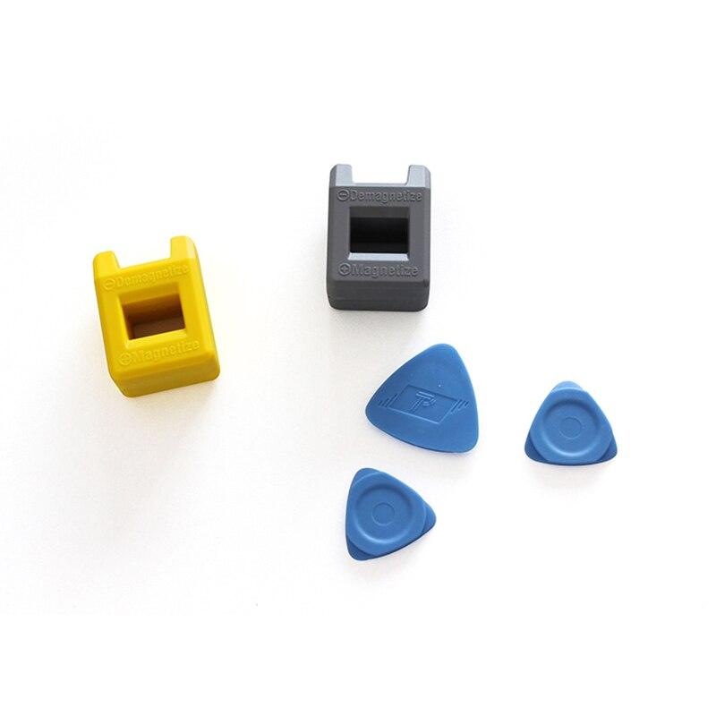 2set/lot Screw Magnetic Gator new Magnetize Demagnetize grip Screwdriver Tips Repair Tools for phones ferramentas
