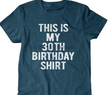 30 Years Old Birthday Gift 30th T Shirt Funny Gifts For Son