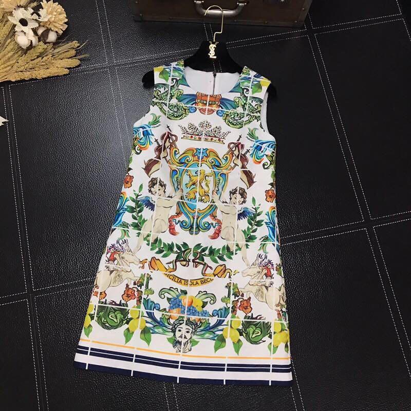 BH05467 haute qualité nouvelle mode femmes 2019 robe d'été de luxe célèbre marque conception européenne fête style robe