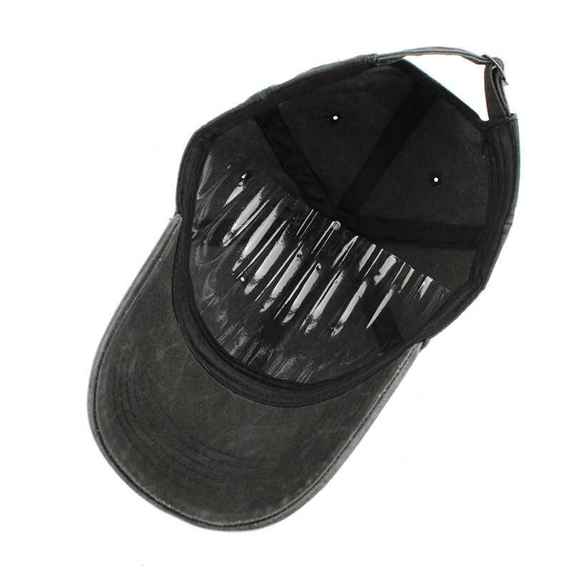 [FLB] عالية الجودة غسلها القطن قابل للتعديل قبعة بيسبول بلون واحد للجنسين زوجين قبعة الموضة الترفيه أبي قبعة Snapback قبعة