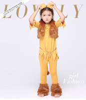 Y03 X012 Children Kid S Cosplay Girl Princess Dress Halloween Party Costume Clothes Anime Performance Winter
