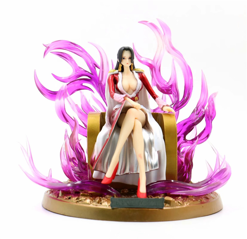 One Piece Boa Hancock The Queen Anime Collectible Doll Model Action Figure