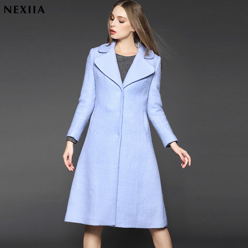 Aliexpress.com : Buy 2016 Limited Spliced Long Trench Coat New