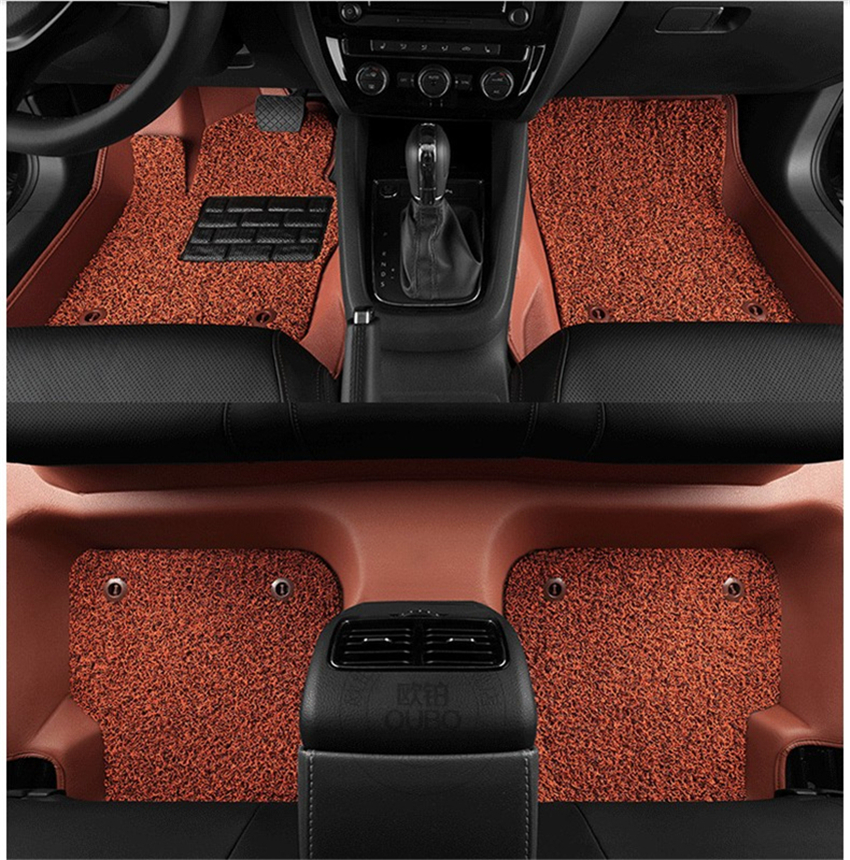 for honda civic floor mats foot carpets mat auto step mat high quality brand new water. Black Bedroom Furniture Sets. Home Design Ideas