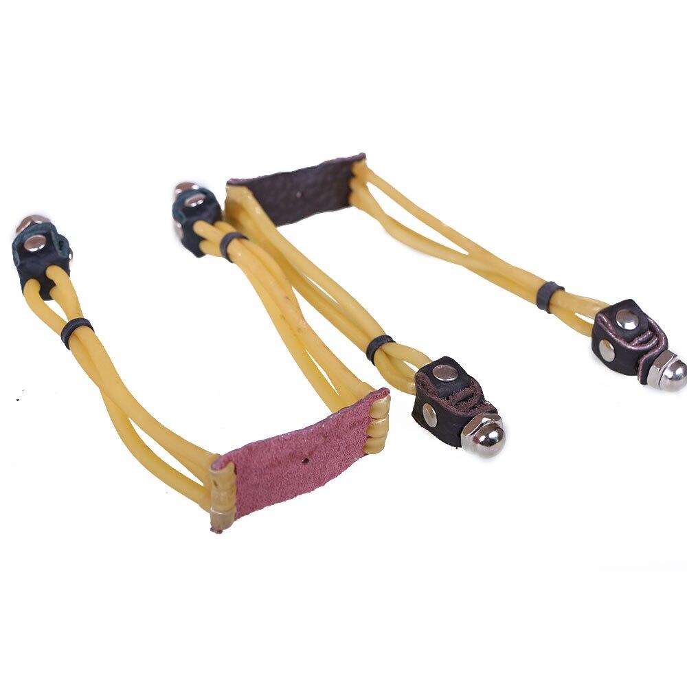 3 шт. три пряди рогатки резинкой Рогатки Целевой Estilingue с металлической спиралью Broadhead Бесплатная доставка ...