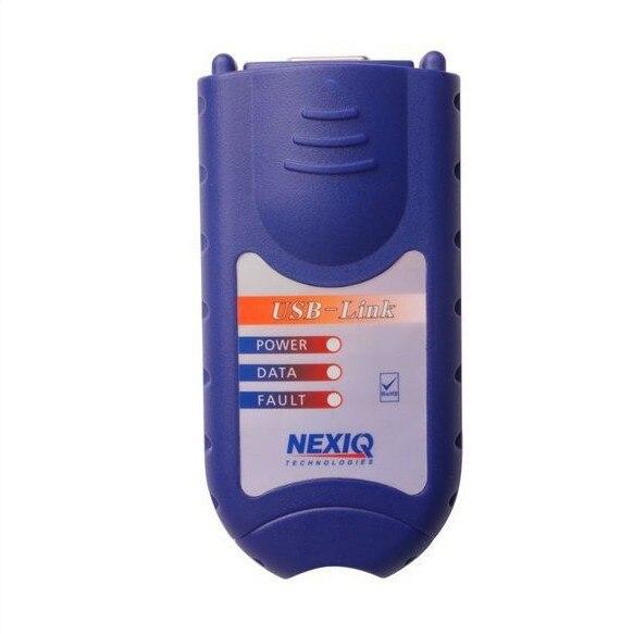 Prix pour Livraison DHL NEXIQ 125032 Unité Principale Nexiq USB Lien Software Camion Diesel Diagnostiquent L'interface Nexiq 125032 USB Pour Camion