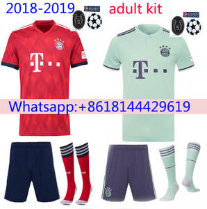 Camiseta de futbol 18 19 men soccer Jersey bayErned muNiched shirt free  shipping 976962b770ff8