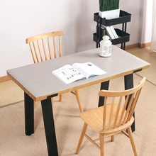 Imitation cement texture mat Table mat insulation pad PVC waterproof anti-scalding oil-proof No-clean 2mm coffee table mat