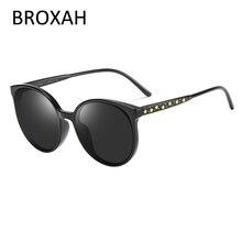 Модные детские очки поляризованные бренд кошачий глаз детские солнцезащитные очки мальчики девочки очки UV400 Люнет де солей enfant