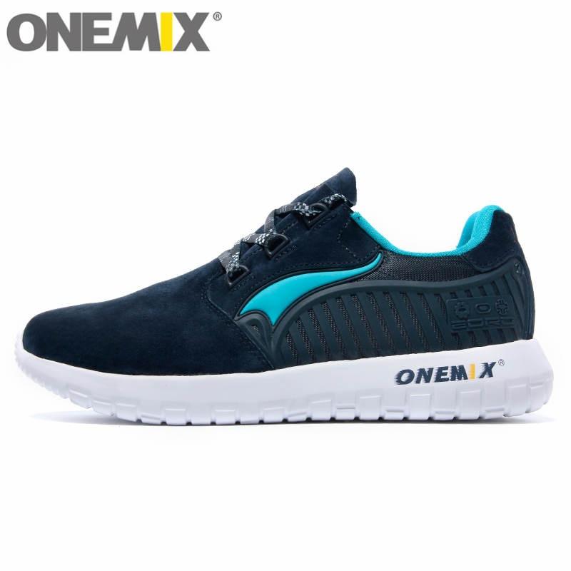 onemix Original Quality Fur Running Shoes for Men Women Antislip Run New Female Walking Sneakers Racer Jogging Men Trainers mne watch megir megir 6 24 relogio sl 3008