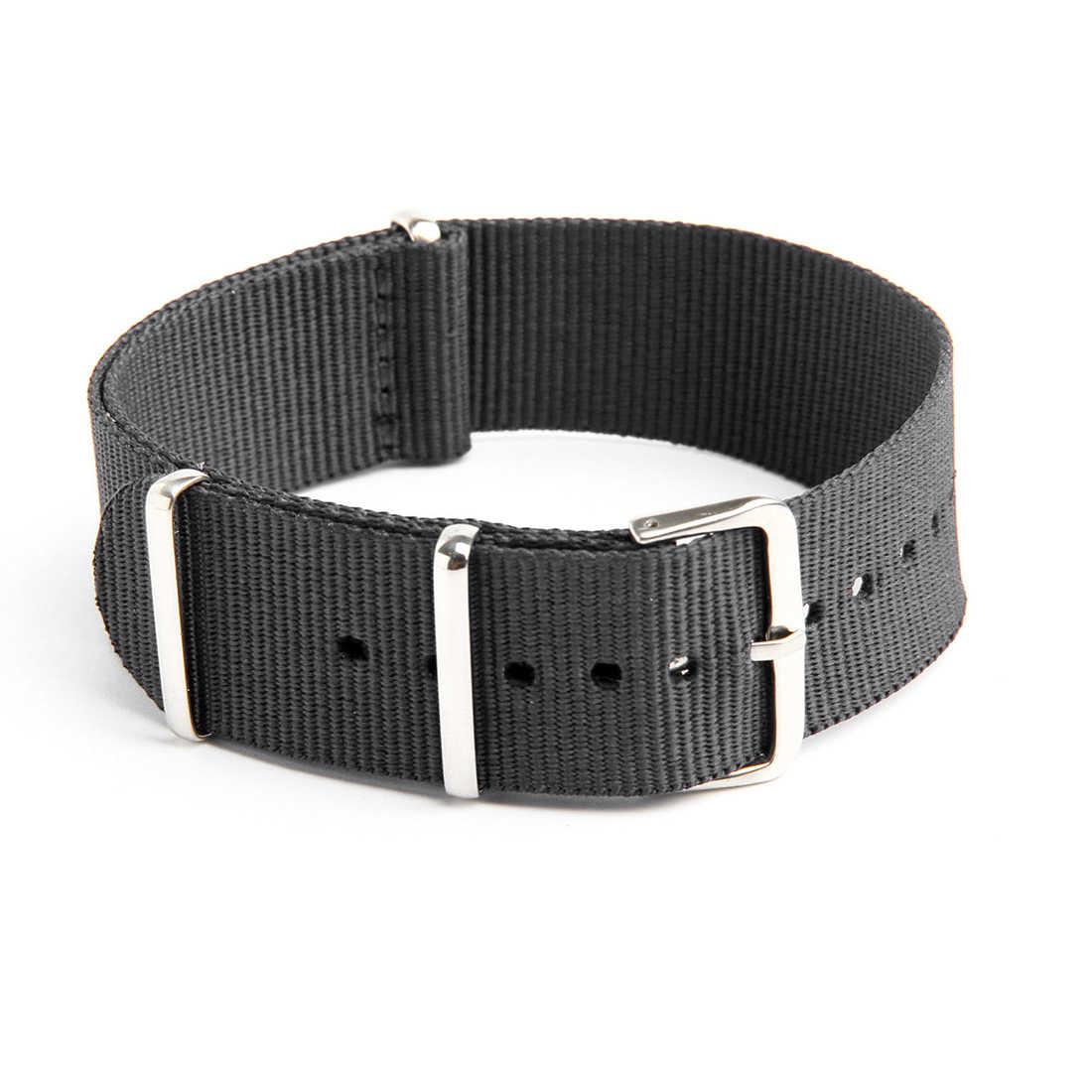 حزام ساعة اليد الفرقة العسكرية الجيش النايلون قماش الغواصين G10 رجالي اللون: رمادي عرض: 20 مللي متر