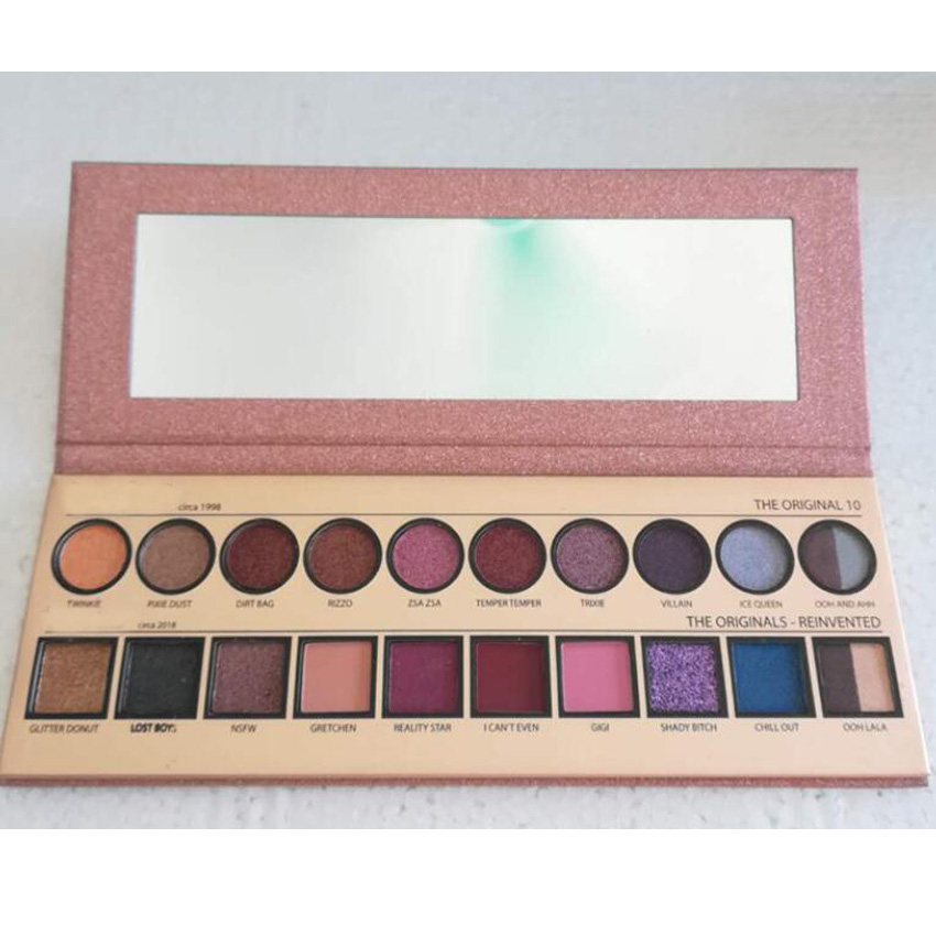 купить 20 year Anniversary Eyeshadow Palette 40 Colors Circa 1998 2018 The Origina Reinvention Shadow Eye Makeup Cosmestics по цене 883.29 рублей
