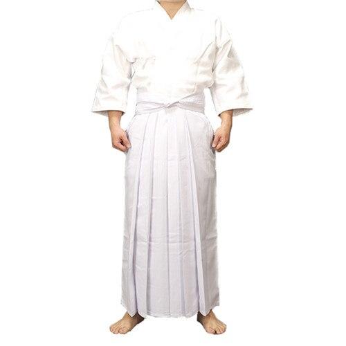 High Quality Japanese Dobok Ties Sets Kendo Iaido Aikido Hapkido Hakama  Martial Arts Uniforms For Men Women Size XXS-3XL
