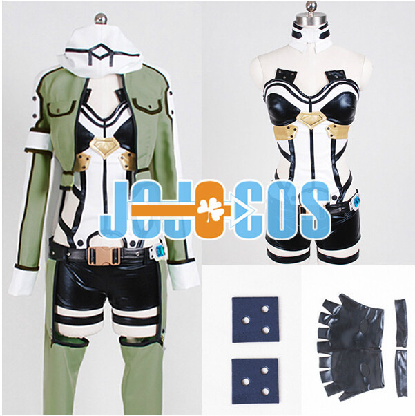 New 2019 New Anime Sword Art Online GGO Sinon Cosplay Costume