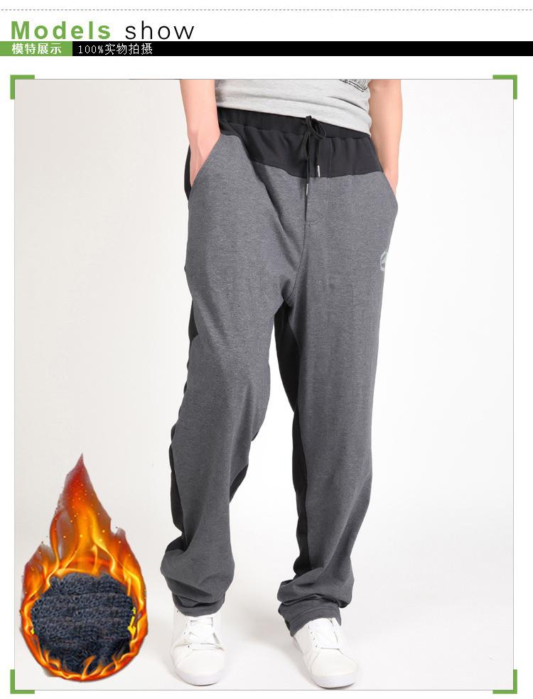 Warm winter pants men Joggers pants Hip Hop pants men clothes 18 Streetwear men's trousers large size XXXL 4XL 5XL 6XL 7XL 8XL 11