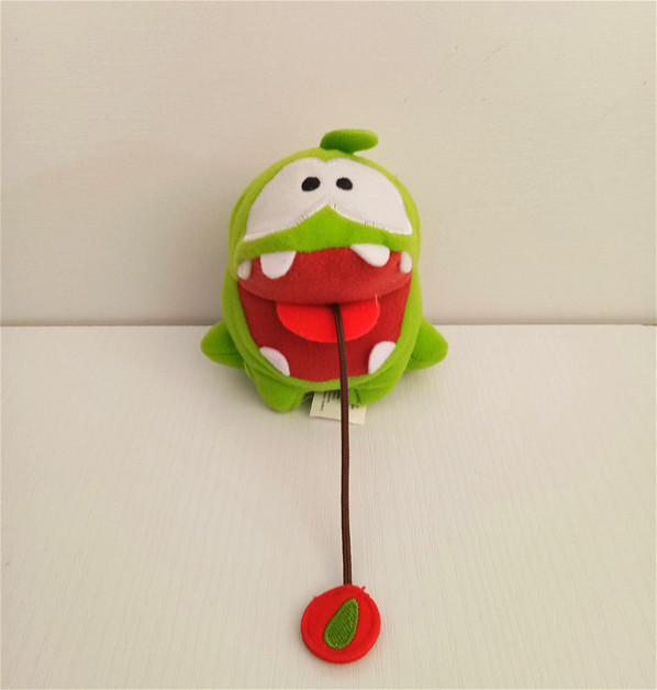 Mini Frog Cut The Rope Om Nom Soft Toy Stuffed Dolls Plush Toys For Children Halloween Gift