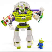 243Pcs+ Toy Story 4 Compatible Logoing Original Buzzed Blocks Set Lightyear Space Mech Building Bricks Movie 2 Toys For Children