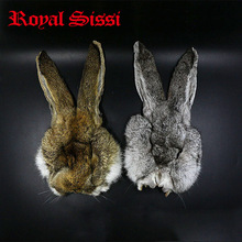Royal Sissi 2pcs hare's masks prograde Hare's Ear Nymph dubbing fur&hairs with stiffer guard hairs super fine fly tying material