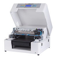 빠른 배달 멀티 컬러 에코 솔벤트 프린터 전화 케이스 인쇄 기계 무료 립 소프트웨어