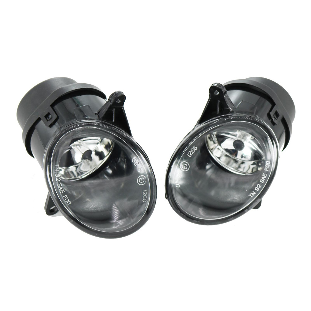 For <font><b>Audi</b></font> <font><b>A6</b></font> C5 S6 Quattro <font><b>2002</b></font>-2005 Car-styling Front Halogen Fog Light Fog Lamp Assembly With Bulbs image