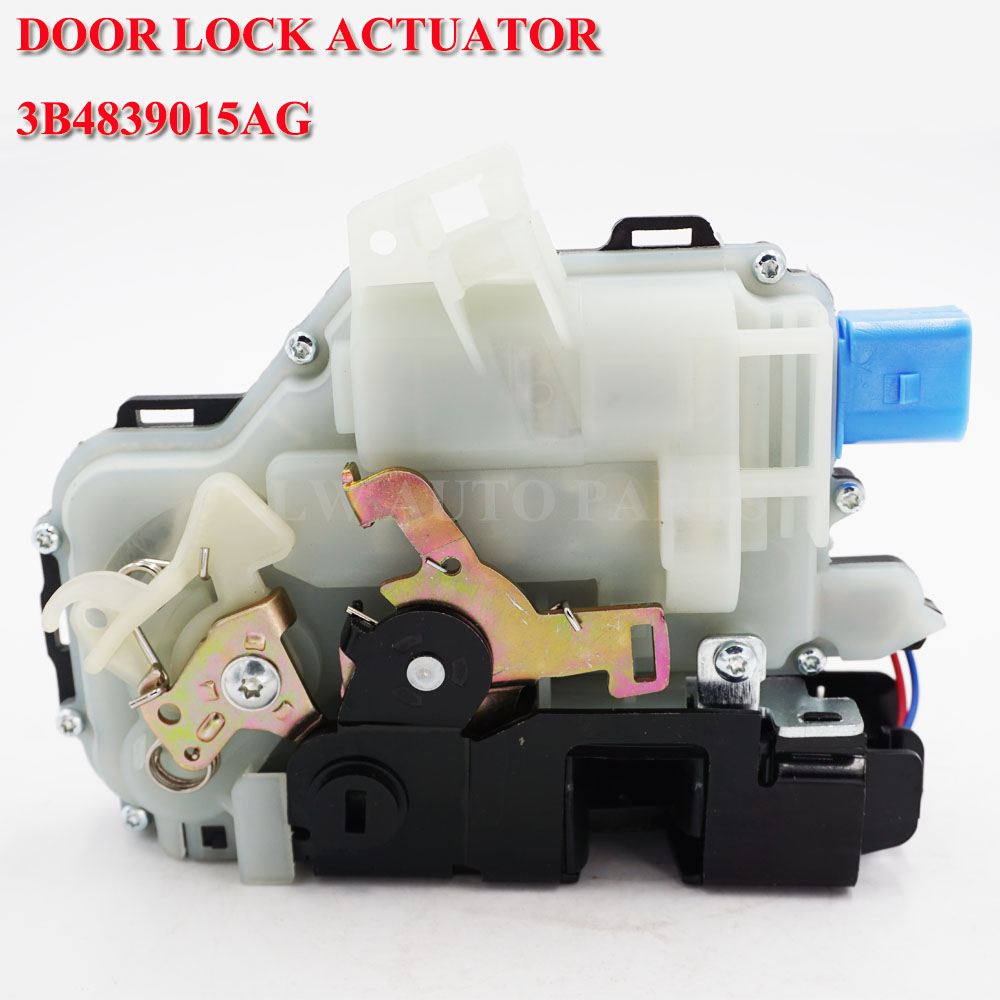 free shipping REAR LEFT DOOR LOCK ACTUATOR CENTRAL MECHANISM 3B4839015AG FOR <font><b>VW</b></font> POLO 9N <font><b>VW</b></font> <font><b>T5</b></font> TRANSPORTER CARAVELLE <font><b>MULTIVAN</b></font> image
