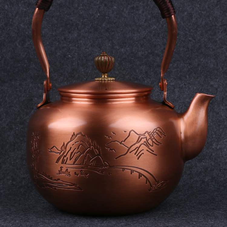Copper Tetsubin Teakettle