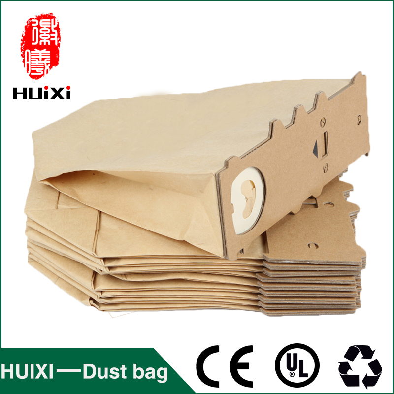 Dust paper bags and vacuum cleaner filter change bags with high quality of vacuum cleaner parts for VK130  VK131 etc dust bags and dust bucket of vacuum cleaner parts with high efficiency for vt02w 09b t3 l201b etc