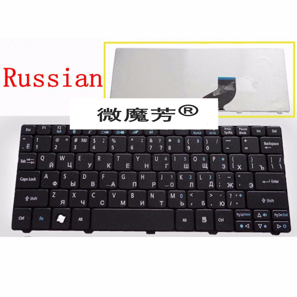 Russian keyboard FOR ACER for Gateway Mini LT21 LT25 LT27 LT28 LT2100 LT32 FOR Packard Bell Dot SPT SE 723 SE2 S-E3 S E2 SE3 RU russian keyboard for gateway ne56 ne56r ne51b p5ws6 ne71b nv59a nv59c nv79c ru black