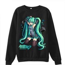 Hot VOCALOID Mens Hoodies Hatsune Miku Cosplay Hoodies Men Hoodies And Sweatshirts Kagamine Rin / Len Cos Vestidos