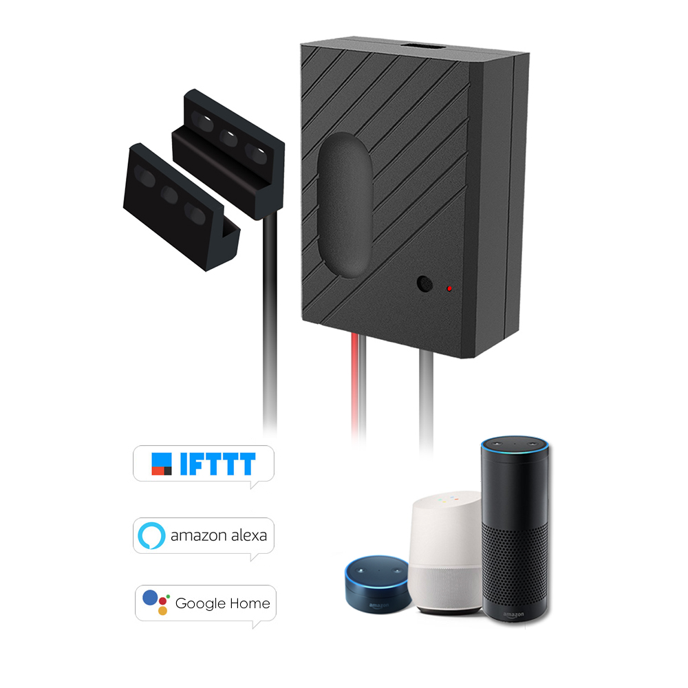 Garage Door Opener App >> Us 29 99 34 Off Smart Wifi Switch Garage Door Controller For Garage Door Opener App Remote Control Timing Voice Control For Alexa Google Home In