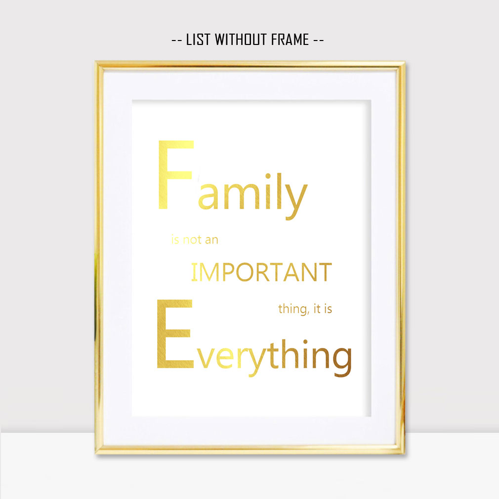 Feuille D Or Imprimer Citations Peinture Famille Est Tout Pépinière