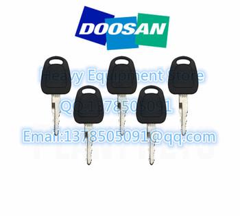 5 sztuk F900 zapłonu Start przełącznik klucz K1009605 dla Doosan Daewoo Terex Bobcat E80 koparka ładowarka tanie i dobre opinie without CN (pochodzenie)
