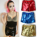 Adult Ds Women Sequins Shorts Costume Dance Short Feminino Jazz Dance Costumes Elastic Hip Hop Nightclub Singer Show Shorts