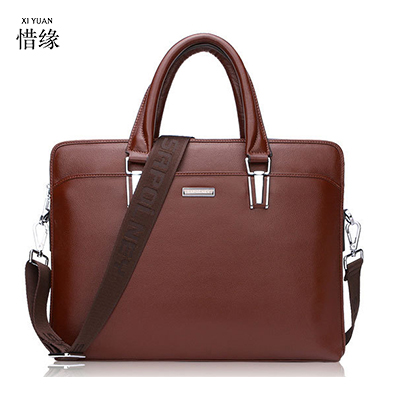 XIYUAN BRAND men Leather zipper black Shoulder messenger Bag For A4 Files Laptop Male Crossbody Handbags man Dress bags brown xiyuan genuine leather handbag men messenger bags male briefcase handbags man laptop bags portfolio shoulder crossbody bag brown