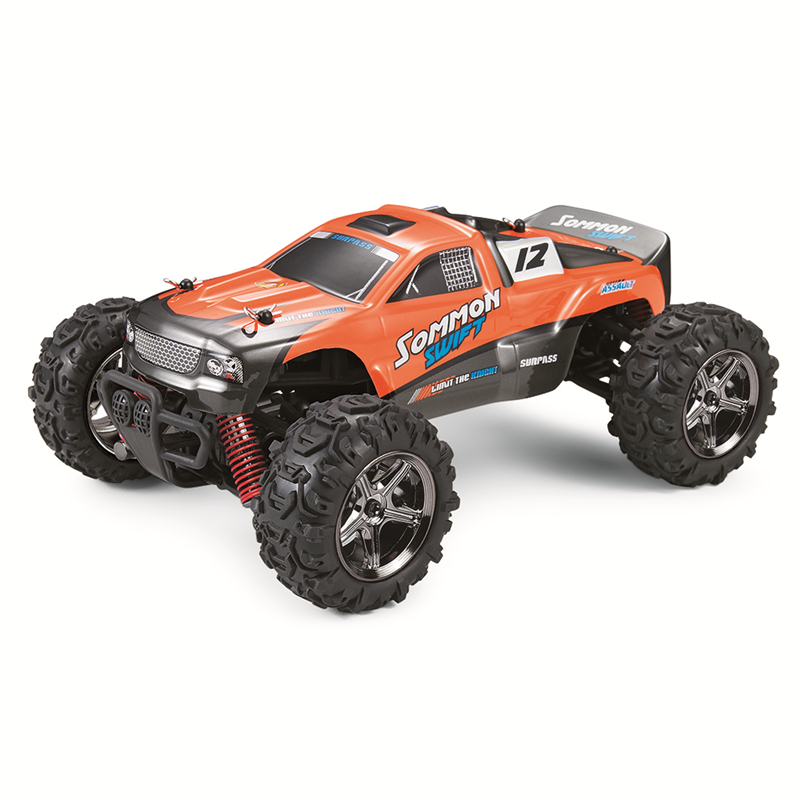 ФОТО 1/24 2.4G 4X4 Drive High Speed Off Road Remote Control Car Racing Drifting 40km/h RC Car Toys Proof  Explosion Car For Boys