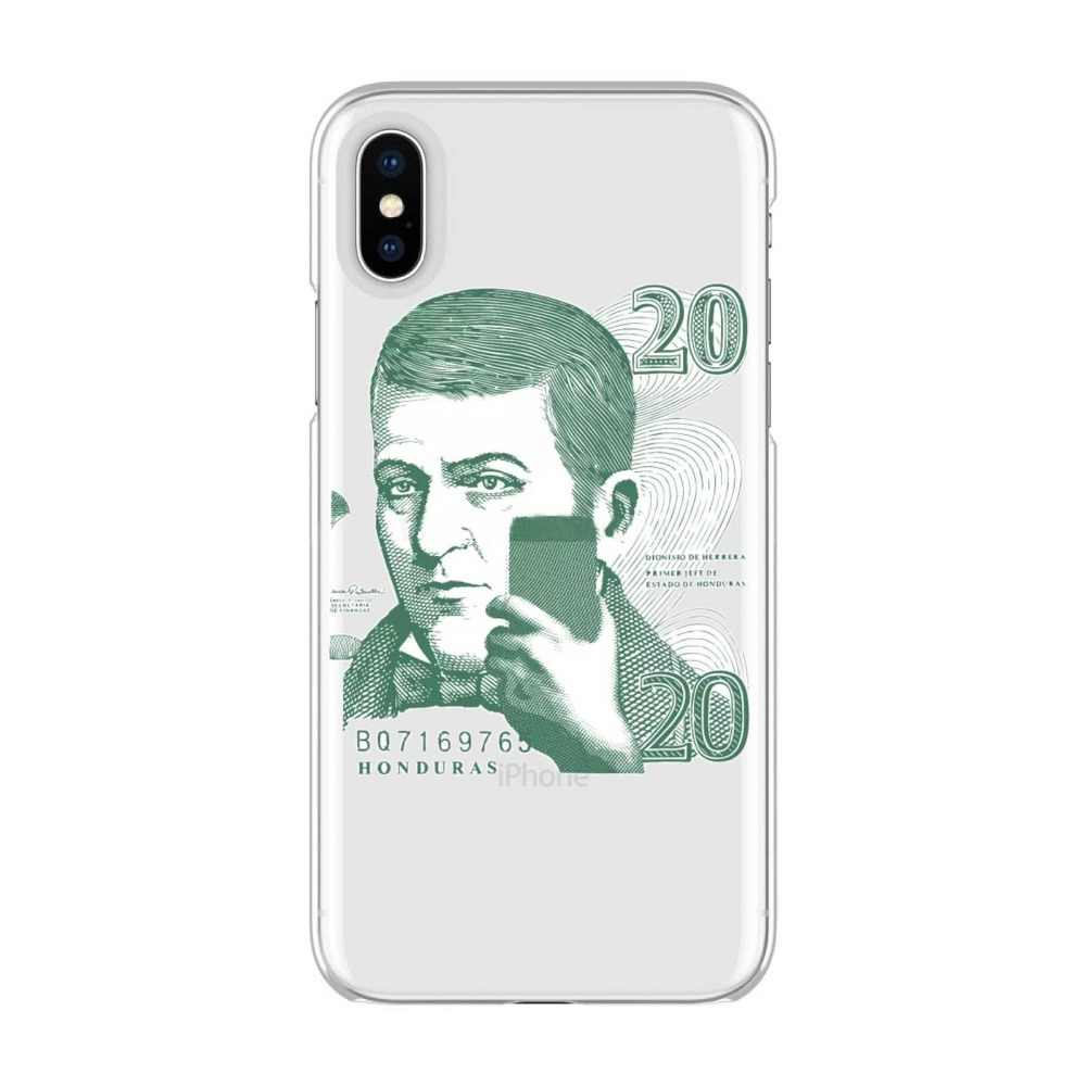 Honduras billete 20 lempiras Dionisio de Herrera Soft TPU cover phone case for iPhone Max XR XS X10 5 5S 5SE 6 7 8 6S 7 8Plus