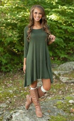 Belva Pregnancy clothes free shipping Maternity Soft nursing Dresses for pregnant woman photography Green Asymmetrical Dress