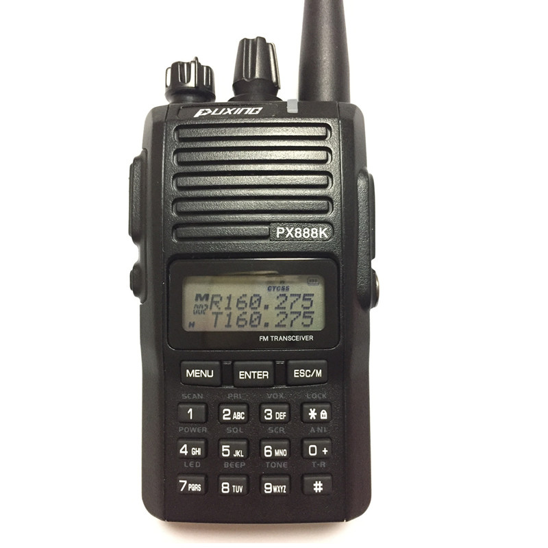 New Arrival PUXING PX-888K dualband dual frequency UHF/VHF two way radio walkie talkie transceiver and Multi-Function Воск