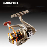 GUGUFISH All Metal Cup Fishing Line Spinning Wheel Left Right Hand Fishing Reels 1000 6000 Series