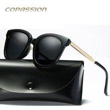 2017 de lujo de la marca Polarizadas gafas de ojo de gato gafas de sol de las mujeres retro Vendimia de Las Señoras de La Mariposa gafas de sol uv400 Gafas de sol gafas de sol mujer