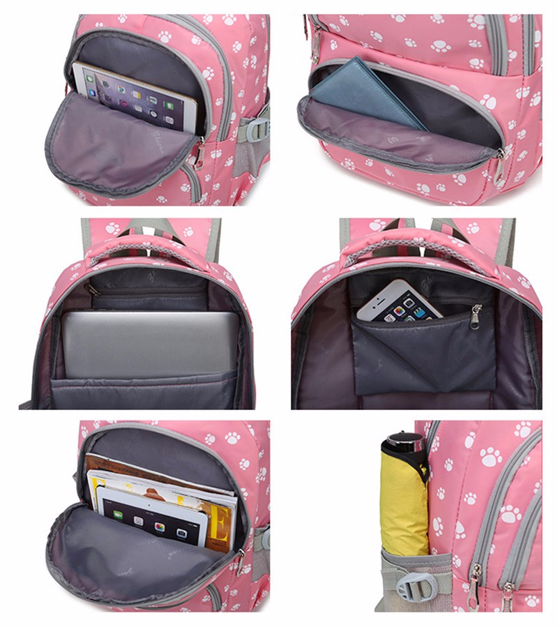 Fashion kids book bag breathable backpacks children school bags women leisure travel shoulder backpack mochila escolar infantil 7