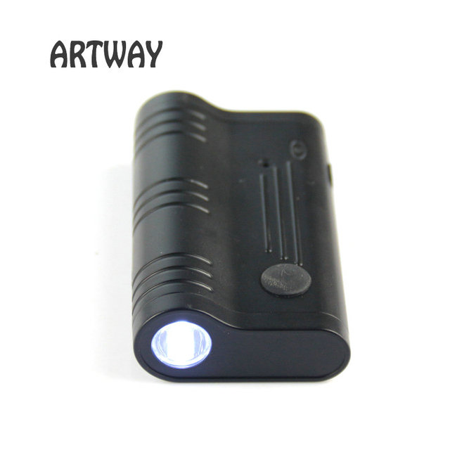 High Quality Digital Voice Recorder Small LED Flash Light Voice Activated Recording & Schedule Recording Within 5 Meters