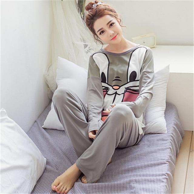 73a7bb589e 2016 Estilo Del Resorte Pijamas Para Mujer Pijama Pijama Pijama Feminino  Femme Entero Pigiami Pigiama Pijama