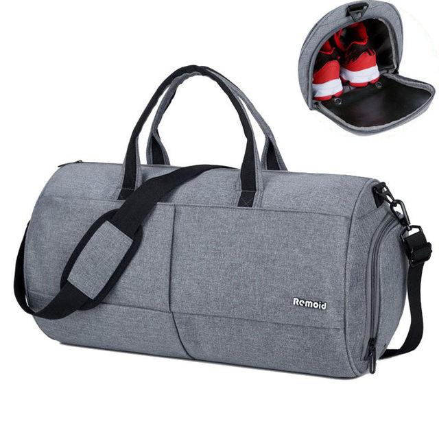 30l Men Gym Bags Waterproof Fitness Travel Bag Handbag Basketball