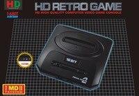 최고 720 인치 당 점 HDMI TV 비디오 게임 콘솔 세가 MEGADRIVE2 MD2 레트로 게임 HDMI 출력 2.4 그램 무선 컨트롤러 18in1 게임