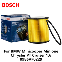 Bosch Car Oil Filters For BMW Minicooper Minione Chrysler PT Cruiser 1 6 0986AF0229