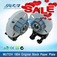 Оригинал! Mutoh 1604 растворитель для принтера Mutoh ролик эко растворитель для принтера Mutoh Valuejet запчасти VJ1604 RJ 900C VJ бумажный роликовый блок